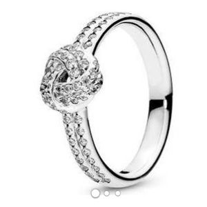 Pandora Infinity Knot Ring